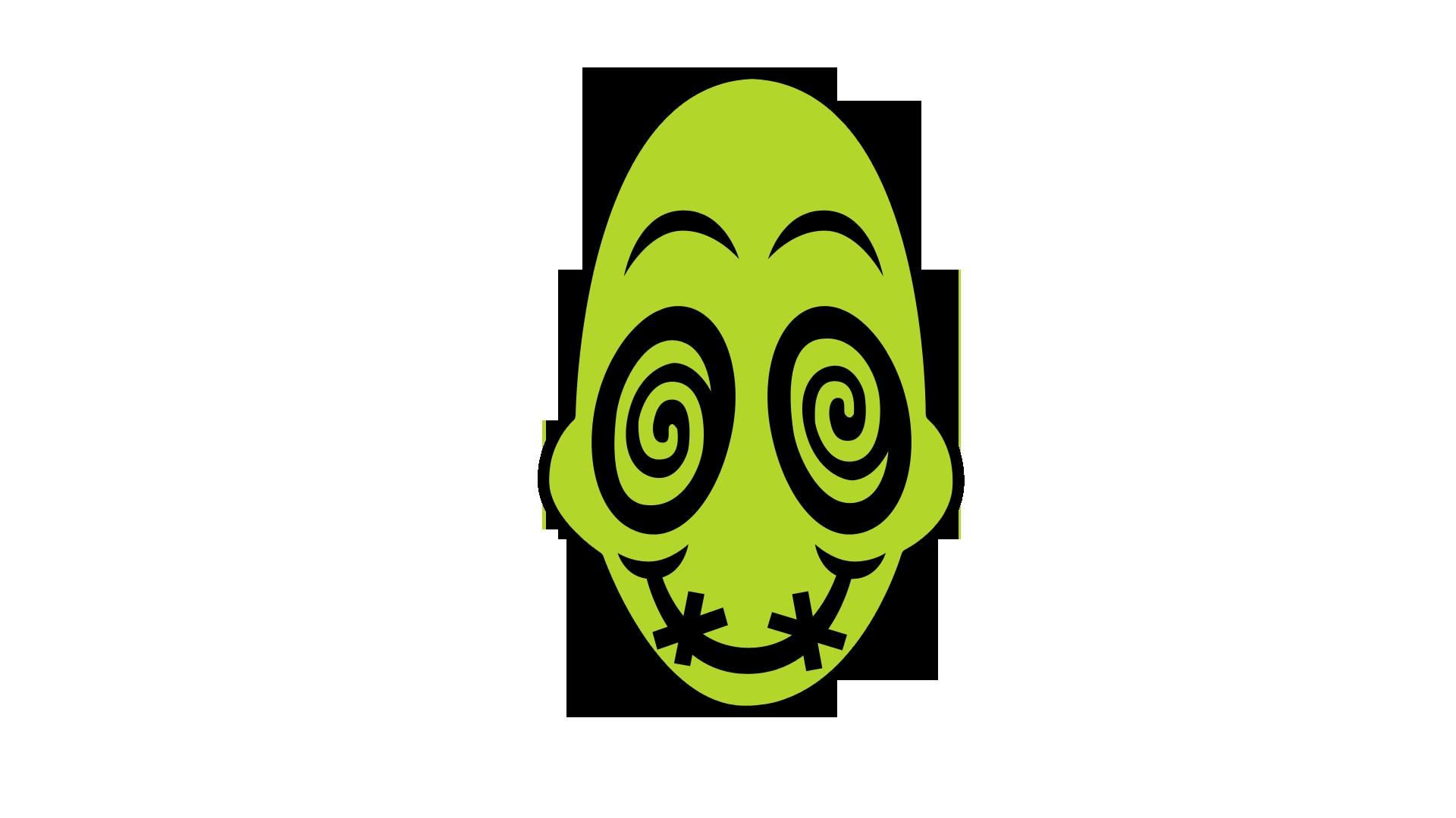 Drugged mudokon emoticon masked