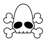 Dead mudokon emoticon masked